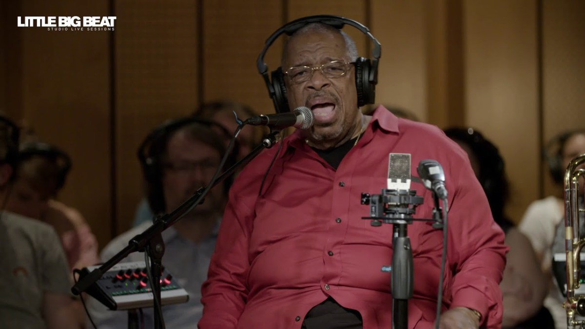 FRED WESLEY - STUDIO LIVE SESSION - House Party - LITTLE BIG BEAT STUDIOS